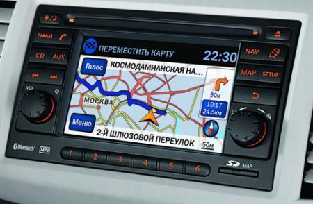 Карта России Для Штатных GPS Nissan