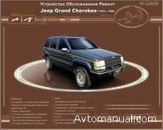 Скачать руководство по ремонту и обслуживанию Jeep Grand Cherokee 1993 - 1999 годов