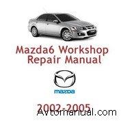 Скачать сервисное руководство по ремонту и обслуживанию Mazda 6