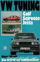 Руководство по тюнингу автомобилей VW Golf, Scirocco, Jetta
