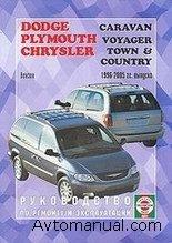 Скачать руководство по ремонту и обслуживанию Dodge Caravan, Chrysler Town (Country), Plymouth Voyager 1996 - 2005 гг.