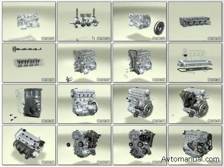 Как собирается двигатель: Bildschirmschoner Motor
