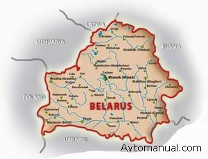 Карту белоруссии для navitel navigator и gisrussa