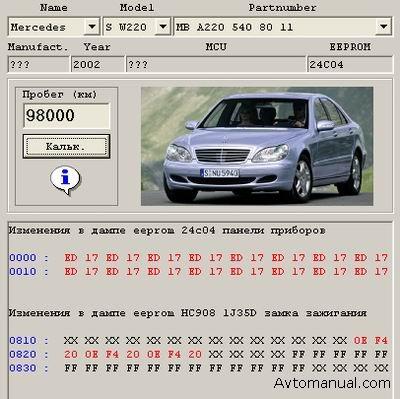 Программы для корректировки одометров автомобилей