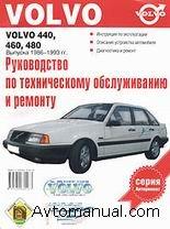Скачать руководство по ремонту и обслуживанию Volvo 440, 460, 480 1986 - 1993 годов выпуска.