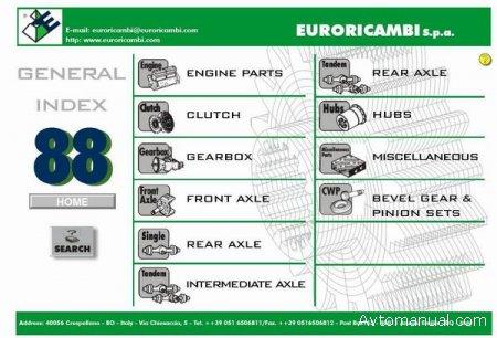 Каталог запчастей для грузовых автомобилей Euroricambi