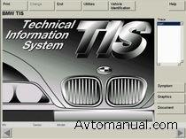 Информационная база по ремонту BMW TIS автомобилей 1980 - 2006 годов выпуска