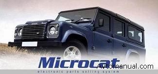 Каталог запасных частей Microcat Land Rover 01 2009 г.