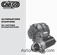 Каталог запасных частей для генераторов и стартеров Cargo