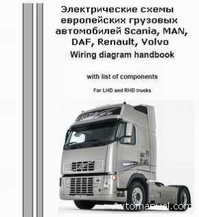 pdf электросхемы грузовиков вольво