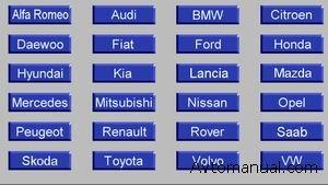 Схемы и расположения блоков Airbag ( SRS )