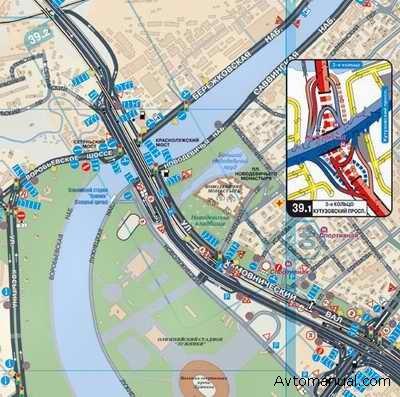 карта москвы интерактивная