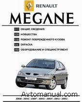 Руководство по ремонту и окраске кузова Renault Megane