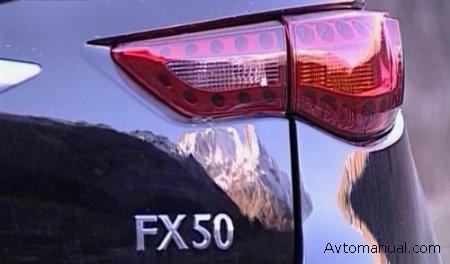 Видео: тест-драйв и обзор Infiniti FX50