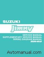 Руководство по ремонту Suzuki Jimny (Service Manual)