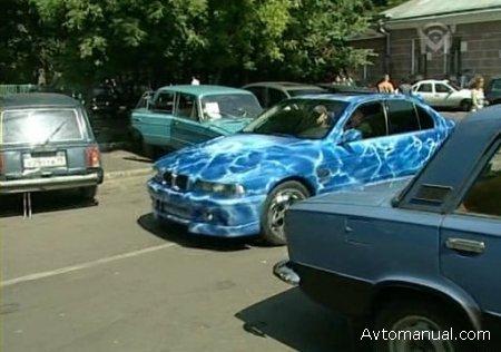 Специальный репортаж про автомобильный тюнинг