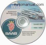 ��������� ����������� �� ������� � ������������ SAAB 900 WIS 1994-1998 �.