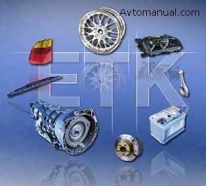 Каталог запасных частей BMW ETK 03 2009 года