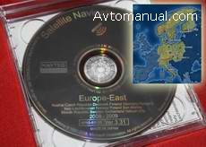 Навигация Alpine Honda 2009 Navigation DVD Eastern Europe v.3.31