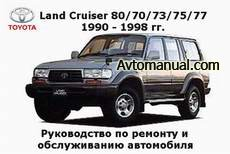 ����������� �� ������� Toyota Land Cruiser 80 / 70 / 73 / 75 / 77 1990 - 1998 ���� �������