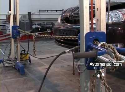 Видео: кузовной ремонт с помощью системы Wedge Clamp