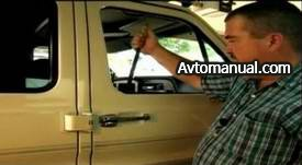 Как открыть захлопнувшуюся дверь автомобиля