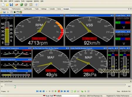 Диагностики автомобиля OBDII (OBD2) для ELM327: ScanXL ELM версия 2.0.7