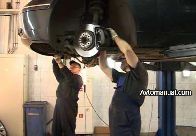 Видео. Диагностика подвески автомобиля BMW 3-й и 5-й серии