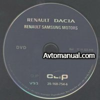 ��������� ��� ����������� ����������� Renault, Dacia, Samsung CLIP v.93 2009