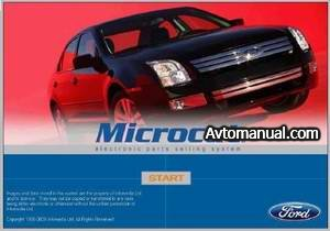������� �������� ������ Microcat Ford USA 04.2009 �.