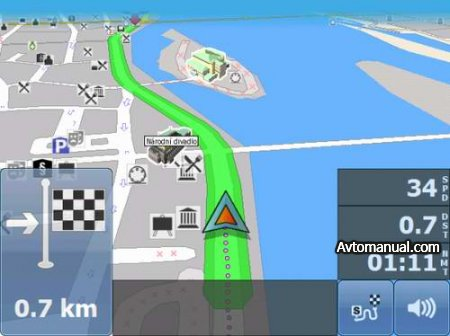 Навигация MapFactor: PC Navigator 9 Truck. Europe and North America
