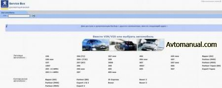 Каталог запчастей, руководства по ремонту Peugeot Service Documentation Backup 04.2009 + SEDRE