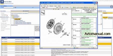 Каталог запчастей, руководства по ремонту Peugeot Service Documentation Backup 04.2009 + SEDRE