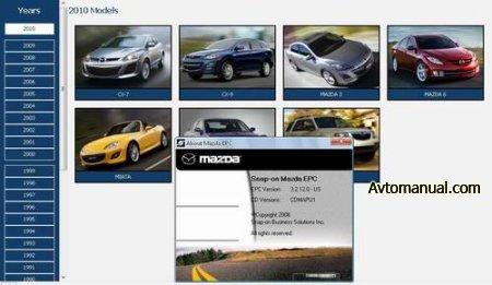 Каталог запасных частей Mazda USA ProQuest 10.2009