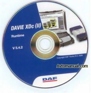 DAF Runtime версия 5.4.2 (2009) База по диагностике и ремонту автомобилей DAF