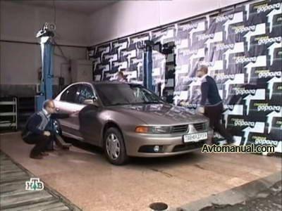 Видео тест обзор автомобиля Mitsubishi Galant 2002 года выпуска