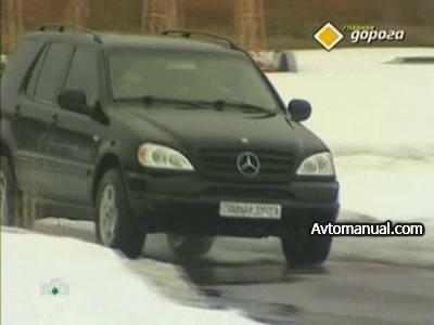 Видео тест обзор автомобиля Mercedes ML320 W163 2000 года выпуска