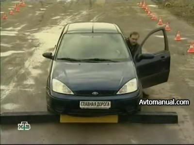 Видео тест обзор автомобиля Ford Focus 2002 года выпуска