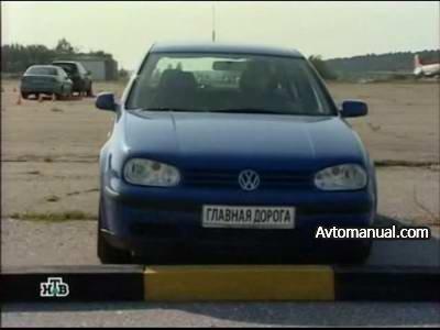 Видео тест обзор автомобиля Volkswagen VW Golf 4 2000 года выпуска