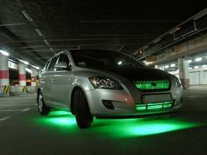 Как сделать неоновую подсветку для автомобиля самостоятельно