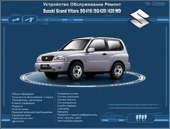 ����������� �� ������� Suzuki Grand Vitara SQ416 / SQ420 / 420 WD 1997 - 2002 ���� �������