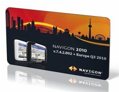 NAVIGON v.7.4.2.802 + Europe Q3 2010 (2010/ENG+RUS) - PDA/PNA