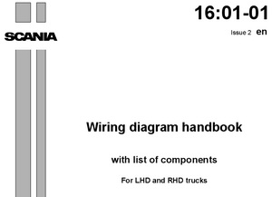 Сборник электрических схем грузовых авто европейского производства: MAN, Scania, Volvo, DAF, Renault