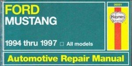 Ford Mustang. Haynes Automotive Repair Manual