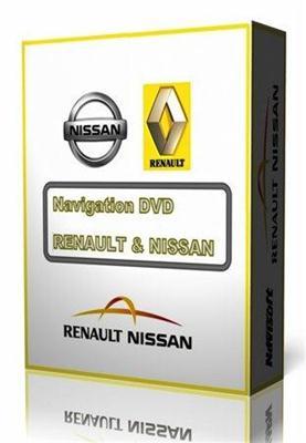 RENAULT & NISSAN - Avto Navigation DVD v.30 [Europe] (2010-2011)