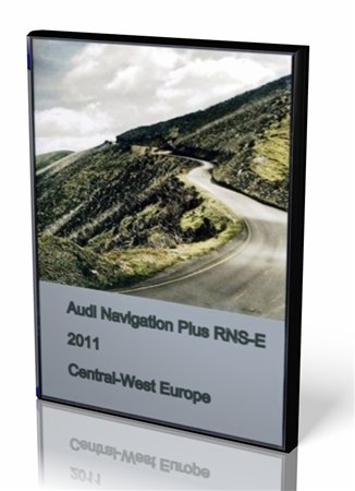 Audi Navigation Plus RNS-E 2011 Central-West Europe (Multilanguage)