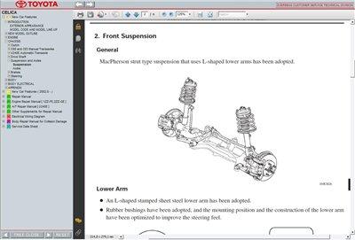 Toyota Celica Service Manual (SIL).