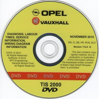 Opel TIS 2000 11/2010
