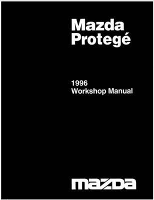 Mazda Protege, Familia, 323. Workshop Manual 1996.