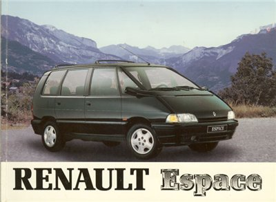 Renault Espace 1984-1996.����������� �� ������� � ������������